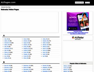 ne.allpages.com screenshot