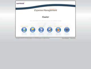 ne7p019exp.sumtotalsystems.com screenshot