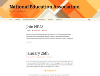 nea-sp.truman.edu screenshot