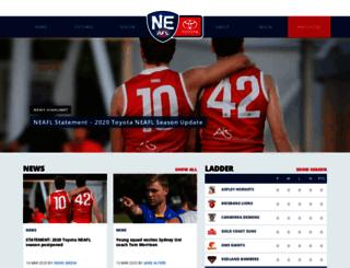 neafl.com.au screenshot