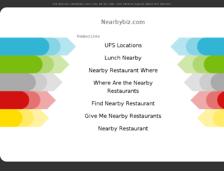 nearbybiz.com screenshot