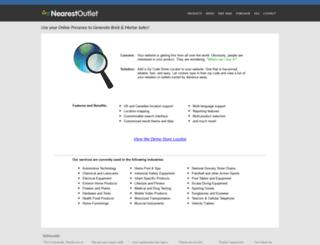 nearestoutlet.com screenshot