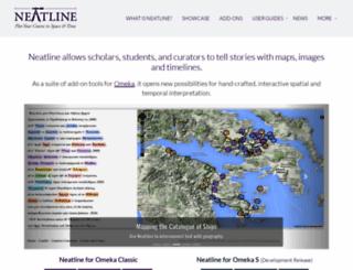 neatline.org screenshot