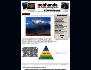nebhands.nebraska.edu screenshot