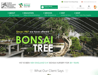 nebonsai.com screenshot