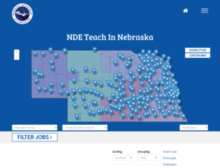 nebraskaeducationjobs.com screenshot