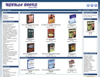 nebulabooks.com screenshot