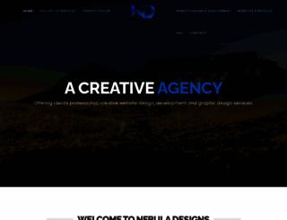 nebuladesigns.co.za screenshot
