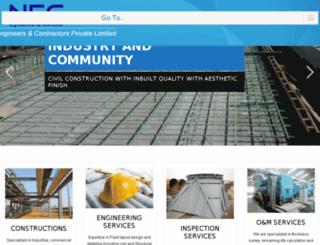 nec-ind.com screenshot