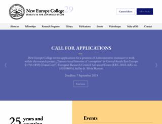 nec.ro screenshot