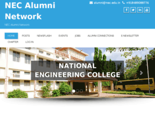 necalumni.net screenshot