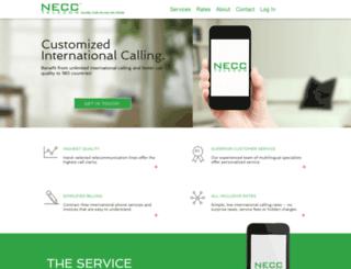 necc.us screenshot