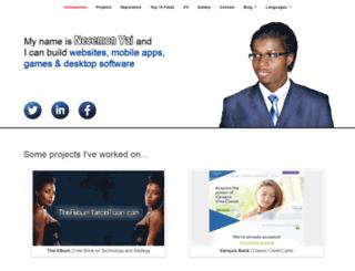 necemonyai.com screenshot