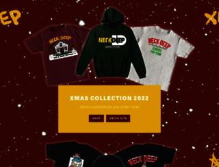 neckdeepuk.com screenshot