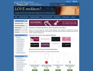 necklaces.org.uk screenshot