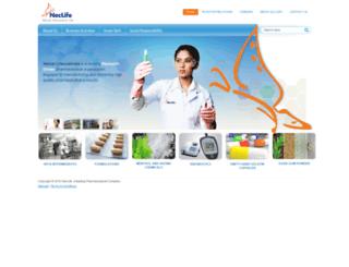 neclife.com screenshot