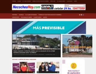necocheahoy.com screenshot