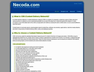 necoda.com screenshot
