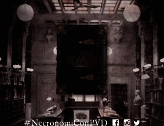 necronomicon-providence.com screenshot