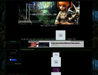 necropolis.superforo.net screenshot
