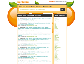 nectarin.com screenshot