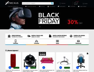 necxus.com.ar screenshot