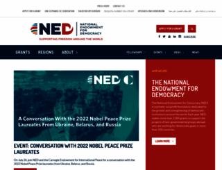 ned.org screenshot
