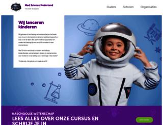 nederland.madscience.org screenshot
