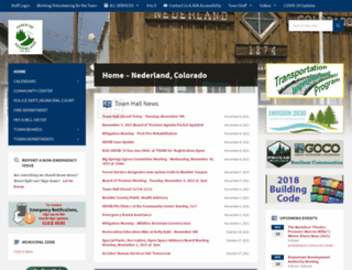 nederlandco.org screenshot