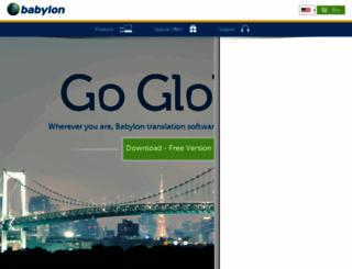nederlands.babylon.com screenshot