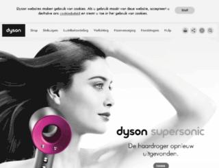 nederlands.dyson.be screenshot