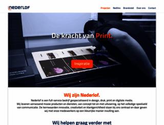 nederlof.nl screenshot