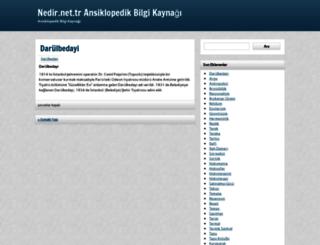 nedir.net.tr screenshot