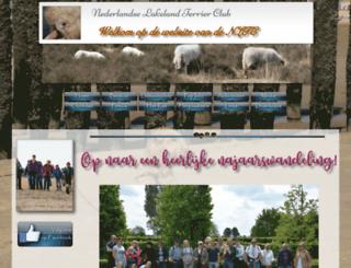 nedlakelandterrierclub.nl screenshot
