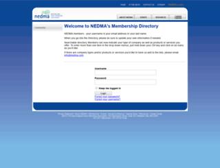 nedma.memberclicks.net screenshot