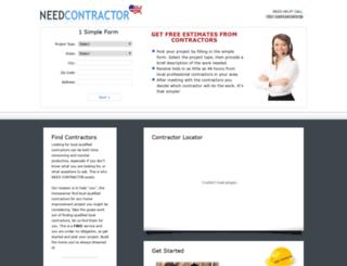 needcontractor.net screenshot