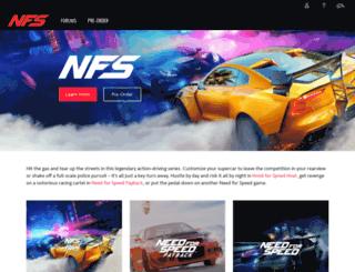 needforspeed.com screenshot