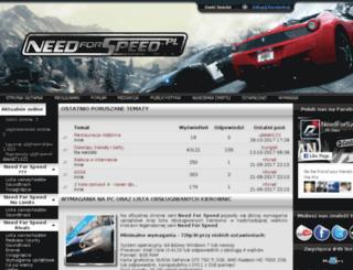 needforspeed.pl screenshot