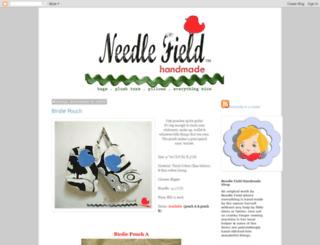 needlefieldhandmade.blogspot.com screenshot