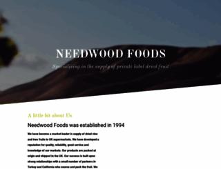 needwoodfoods.co.uk screenshot