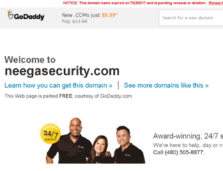 neegasecurity.com screenshot
