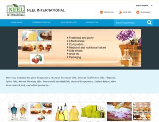 neelinternational.in screenshot