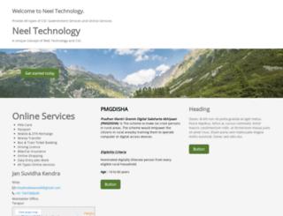 neeltechnology.in screenshot