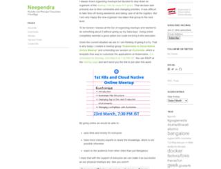 neependra.net screenshot