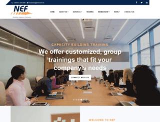 nef.com.na screenshot
