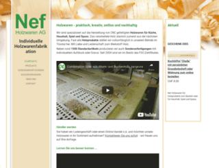 nefholzwaren.ch screenshot