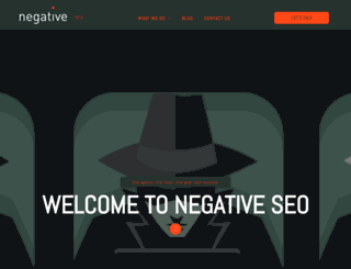 negativeseo.com screenshot