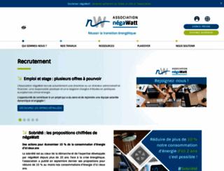 negawatt.org screenshot