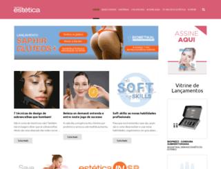 negocioestetica.com.br screenshot