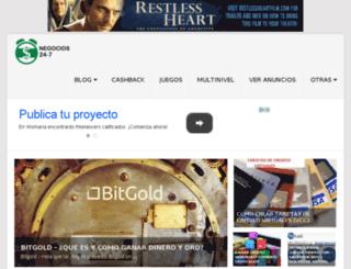 negocios24-7.com screenshot